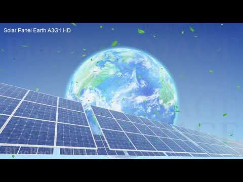 Solar Panels Renewable Energy Sun Power Green clean Solar Panel Earth A3G1 HD