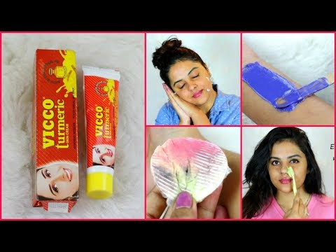 TOP 5 uses of VICCO TURMERIC for skin |Beauty Benefits |Tanutalks |