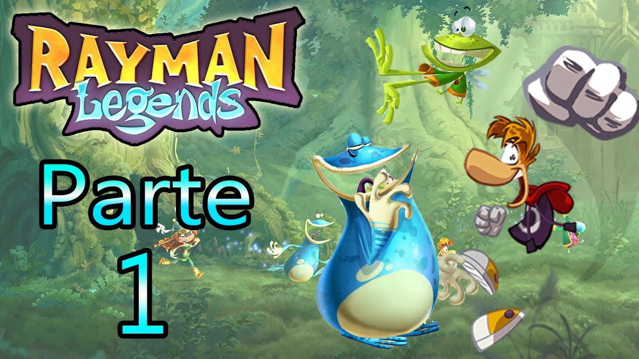 Filme Rayman for let's play : rayman legends - parte 1 - youtube