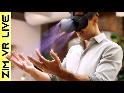 Hand Tracking on Oculus Quest !