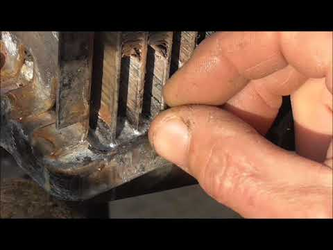 Ремонт трубок охлаждения автомобильного радиатора.