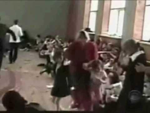 BESLAN HOSTAGE OPERATION MUJAHIDEEN VIDEO 1