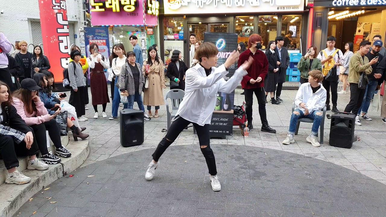 Download 킹덤즈(Kingdoms-이석준(LeeSukJoon))/ Love Shot - EXO(엑소) 20191103 홍대 버스킹