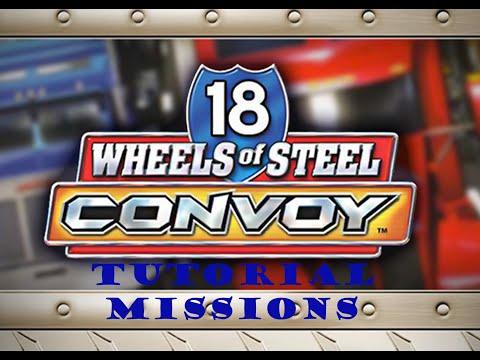 18 Wheels Of Steel:Convoy-Tutorial Missions. |