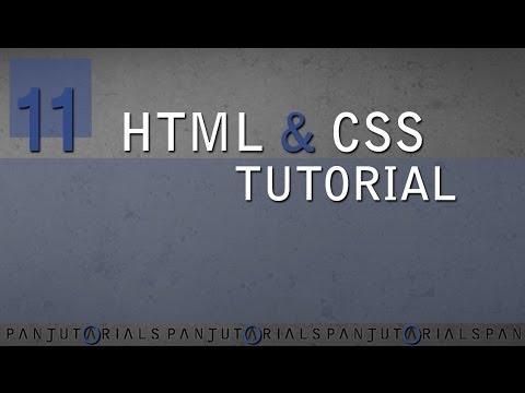HTML & CSS Tutorial Für Anfänger 11 -- Hintergrundfarbe Und RGB