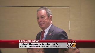 Bloomberg Not Running