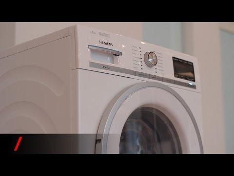 Πλυντήριο Siemens iDos - Ένα πλυντήριο με ευφυΐα