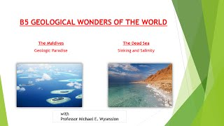 B6 Video on the Maldives and the Dead Sea