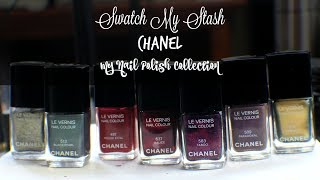 Swatch My Stash - Chanel | My Nail Polish Collection