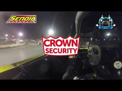 #77 Jamie Simmons - Sportsman - 8-12-17 Senoia Raceway - In Car Camera