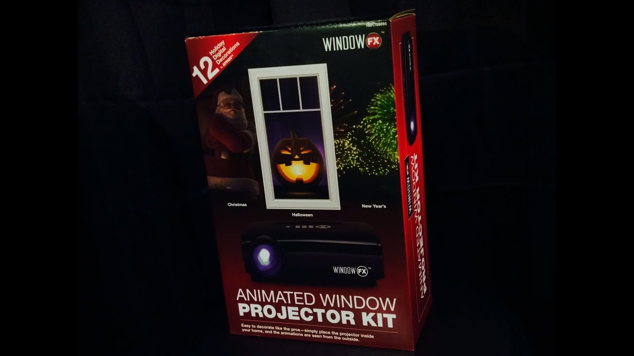 Atmosfx animated window projector kit r i p reviews for R rating for windows