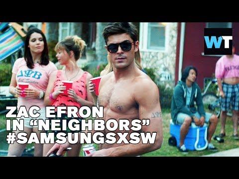 Zac Efron, Dave Franco & Christopher Mintz-Plasse  - Neighbors UNCUT   #SamsungSXSW