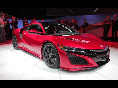 2016 Acura NSX - 2015 Detroit Auto Show - YouTube