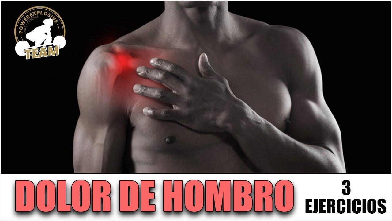 ejercicios para aliviar el dolor en los hombros