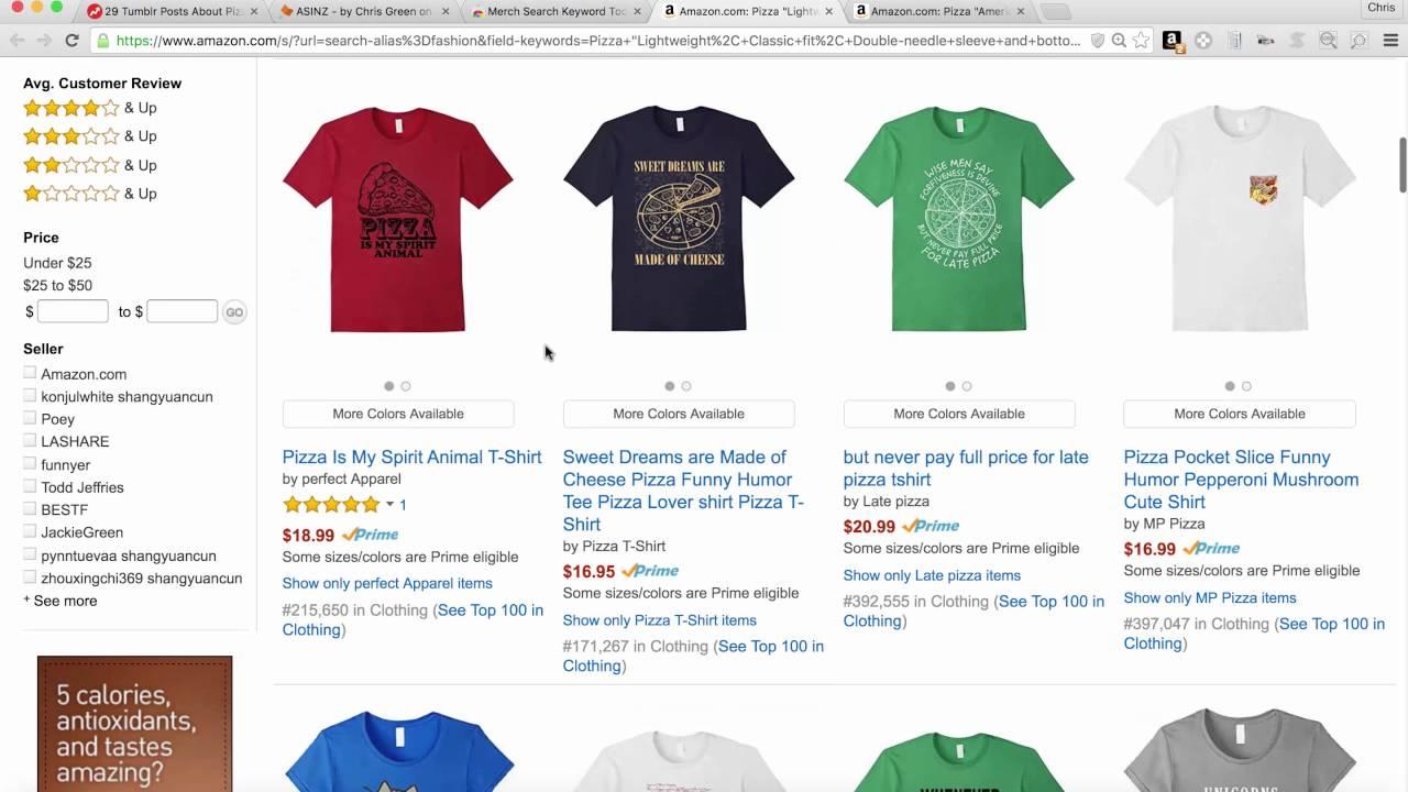Add Merch To Amazon Seller