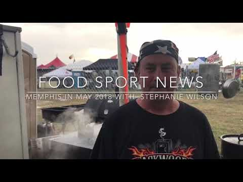 Food Sport News FoodCaster Stephanie Wilson Live in Memphis in May 2018