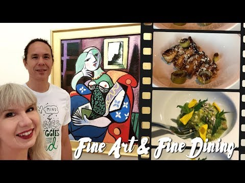 Fine Art + Fine Dining in Pasadena: Vegan Adventure Vlog