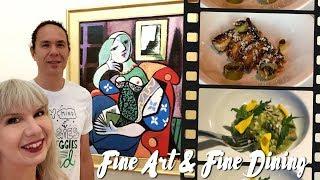 Fine Art + Fine Dining in Pasadena: Vegan Adventure Vlog