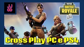 How do Cross Play between PC and PS4-Fortnite Battle Royale