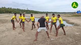 Kabaddi Skills-Easy Learn-Hand Touches