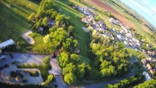 Au camping les Pommiers - Aiguelèze - Vue du ciel