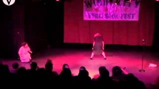 """Out Comes the Evil"" by DeeDee and Irma - Windy City Burlesque Fest 2011"