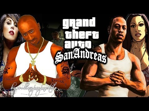 2Pac ft Young Maylay (CJ) - GTA San Andreas (Song Theme) Exclusive Remix HD