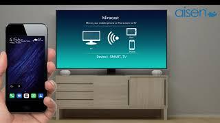 AISEN Smart TV - Screen Mirroring | Miracast