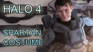 Halo 4: A SPARTAN Costume  - The Making Of