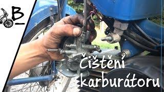 Babetta 210 - Čištění  a seřízení karburátoru