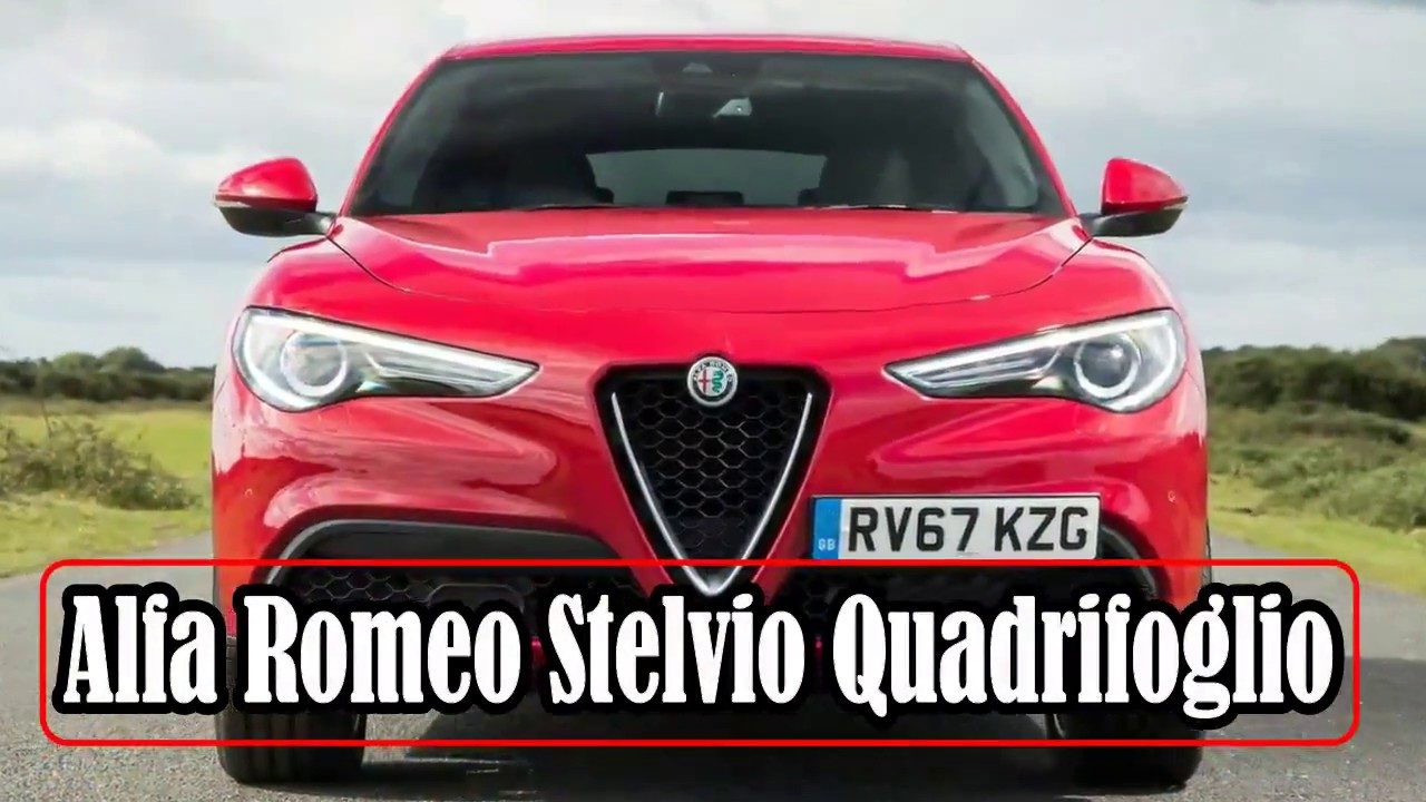 New Alfa Romeo Stelvio Quadrifoglio Going After The Bmw X5 Mercedes Gle With Large 7 Seater Suv