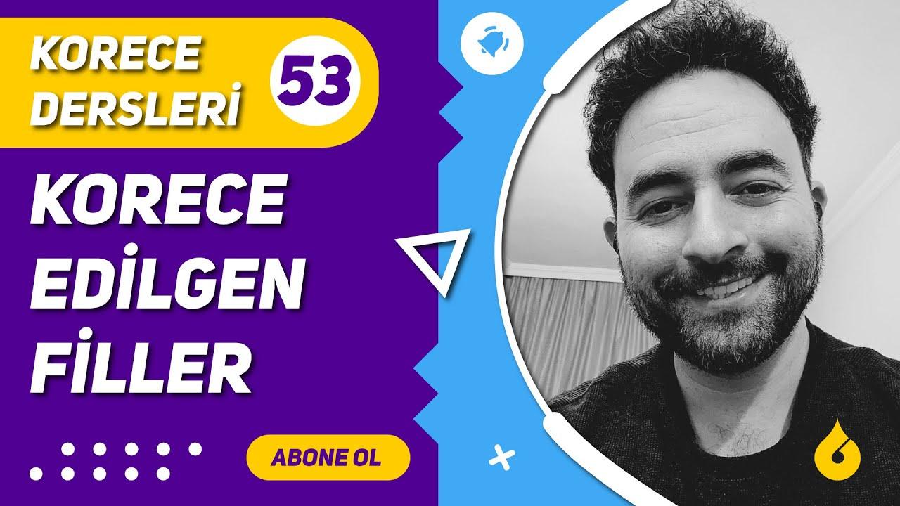 🇰🇷 Korece Dersi 53/60: Korecede -이, 히, 리, 기, -어  아 지다 ve 되다 ile edilgen fiil çekimi