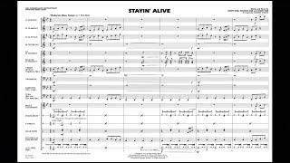 Stayin' Alive arranged by Johnnie Vinson