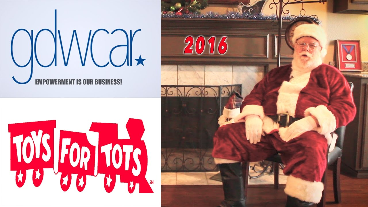 Toys For Tots Advertisement : Toys for tots gdwcar campaign youtube