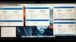 intel i7 5960x 8 core overclocked vs xeon e5 2683 v3 14 core stock geekbench