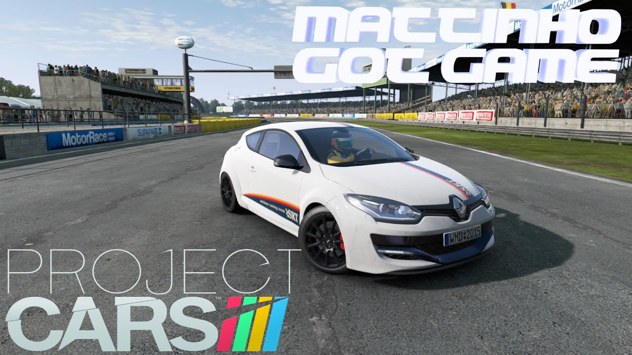 project cars renault sport car pack renault megane rs 275 trophy r youtube. Black Bedroom Furniture Sets. Home Design Ideas