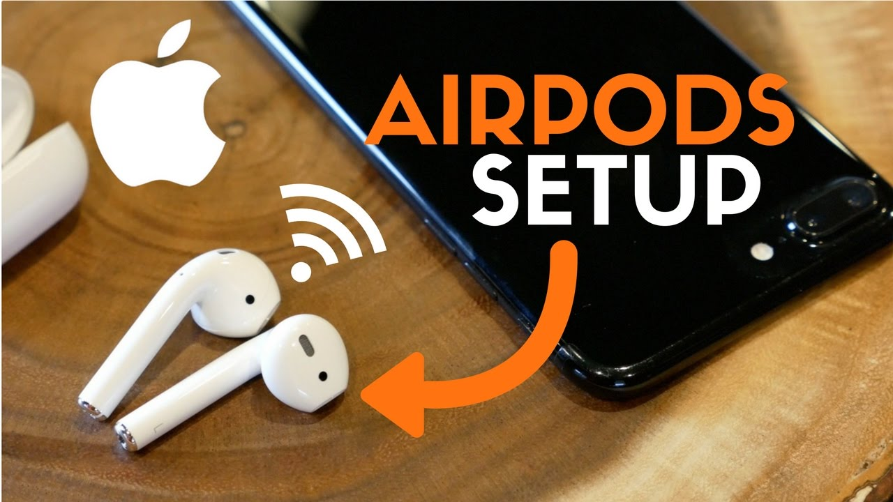 How To Setup Apple Airpods Best Wireless Headphones For Iphone Youtube
