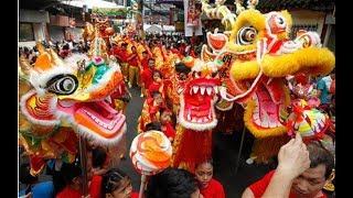 Китайский танец дракона, китайские праздники