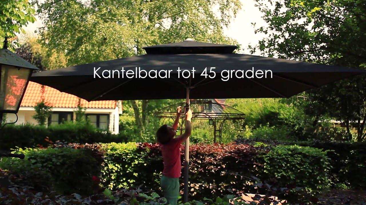 Parasol Fratello Van Parasols XL   YouTube