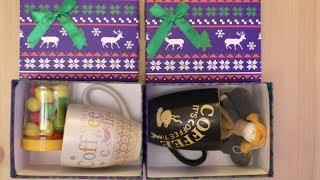 видео Подарки на Новый год, купить набор для встречи новогодних праздников 2017