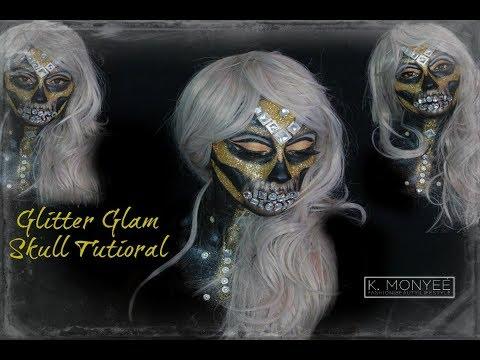 glitter-glam-skull-tutorial