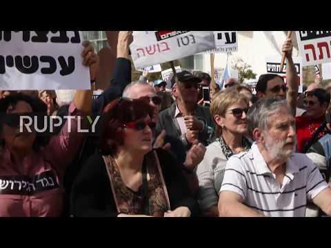 Israel: Thousands demand Netanyahu resign over police probe