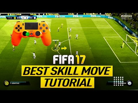 FIFA 17 BEST SKILL MOVE TUTORIAL - HOW TO GET BETTER AT FIFA 17 - MOST DANGEROUS TRICK (H2H & FUT)