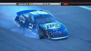 Tony Stewart's crash at 2007 Daytona 500