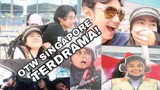 FELITO GABYABES OTW SINGAPORE | Penuh Drama! Hahahaha