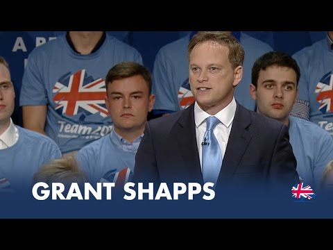 Grant Shapps: Speech to Conservative Party Conference 2014