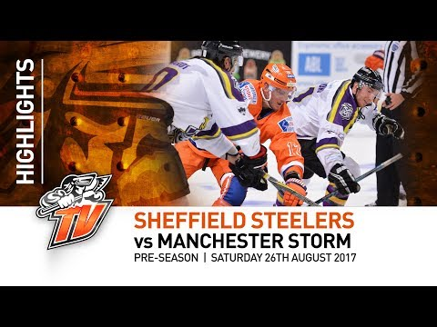 Sheffield Steelers v Manchester Storm - Pre-season - Saturday 26th August 2017