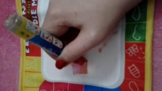 Pizarra para niños. Escribir con agua BUYINCOINS