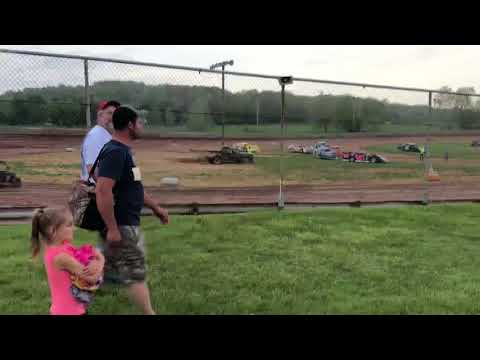 Ohio valley speedway late model hot laps