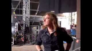 David Ellefson of MEGADETH at Download Festival